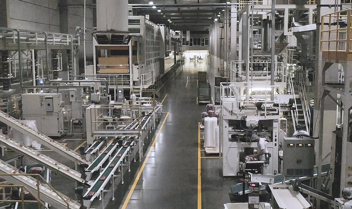 Fotografia da nova fábrica, pós expansão da Selmi